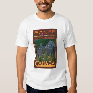 Banff-T-camisa Polera