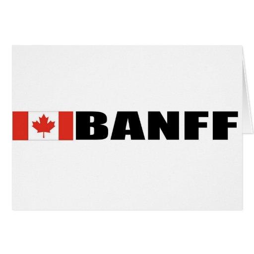 Banff Tarjeta De Felicitación