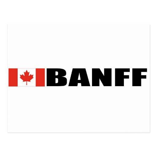 Banff Tarjeta Postal