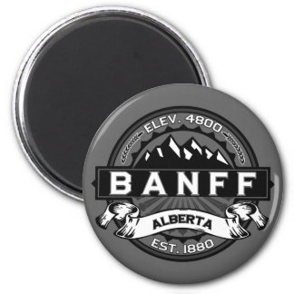 Banff Tile Gray Magnet