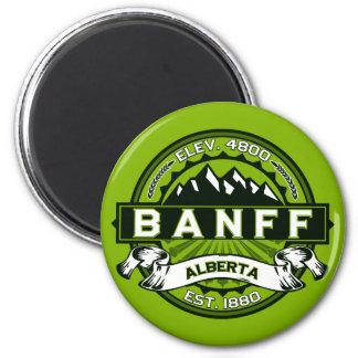 Banff Tile Green Magnet