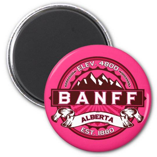 Banff Tile Raspberry Magnet