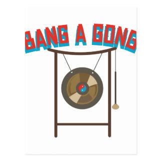 Bang A Gong Postcard