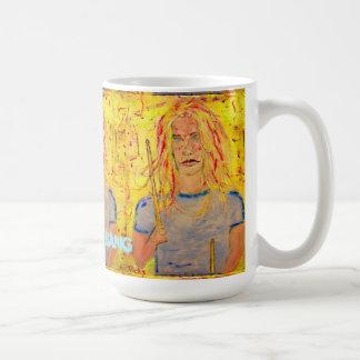 bang bang bang Drummer Girl Coffee Mug