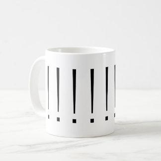 Bang-Bang-Bang (sans serif) Coffee Mug