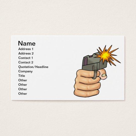 Bang Bang Business Card