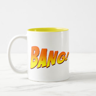 BANG! BANG! Two-Tone COFFEE MUG