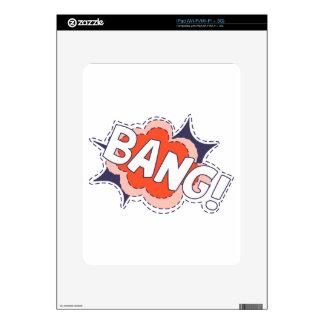 Bang Bright iPad Decals