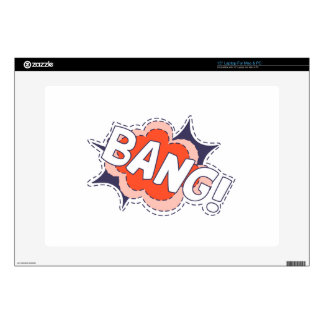 Bang Bright Laptop Decals
