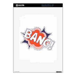 Bang Bright Skin For iPad 2
