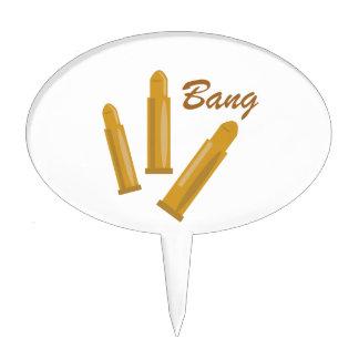 Bang Cake Topper
