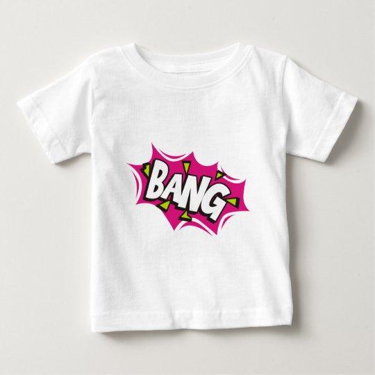 Bang Cartoon Pow Zap Baby T-Shirt