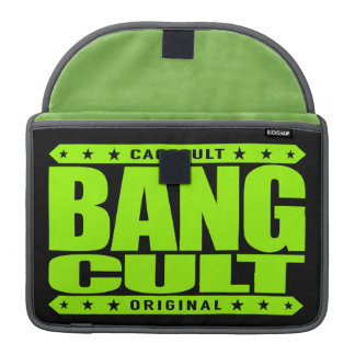 BANG CULT - Kickboxing, Boxing and  Muay Thai Meme Sleeve For MacBook Pro