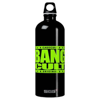 BANG CULT - Kickboxing, Boxing and  Muay Thai Meme Water Bottle