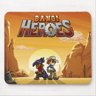 Bang! Heroes Mousepad