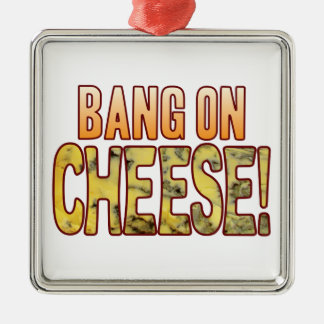 Bang On Blue Cheese Metal Ornament
