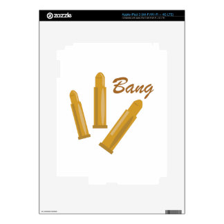 Bang Decals For iPad 3
