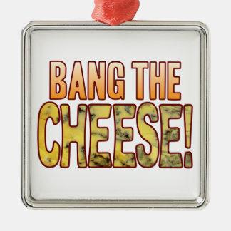 Bang The Blue Cheese Metal Ornament