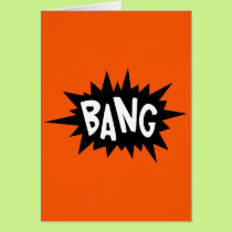 Bang! - You just hit 40 Dude Birthday card