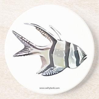 Bangai Cardinal Fish Coaster