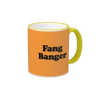 Banger del colmillo tazas de café