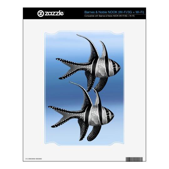 Banggai Cardinalfish Barnes & Noble Nook Skin