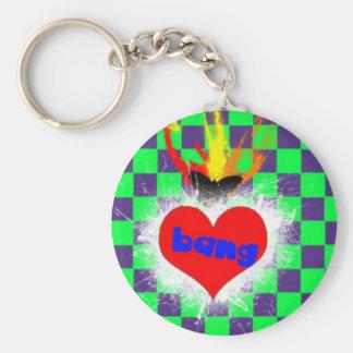 BANGheart Keychain