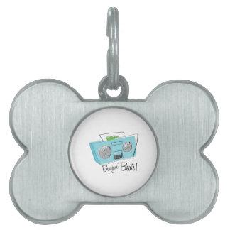 Bangin Beats Pet ID Tags