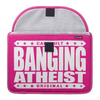 BANGING ATHEIST - I Am Big Bang Powered Kickboxer Sleeves For MacBook Pro