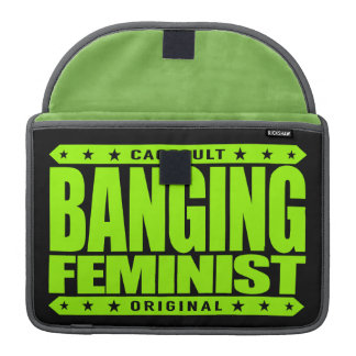 BANGING FEMINIST - I FistFight For Equal Rights Sleeve For MacBooks