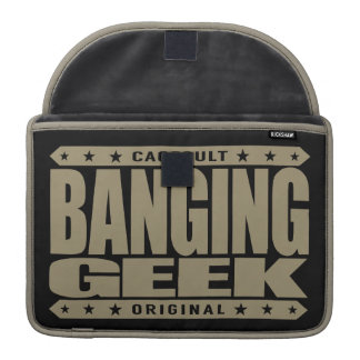 BANGING GEEK - I Am a Scientifically Proven Savage Sleeves For MacBooks