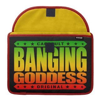 BANGING GODDESS - Worship My Savage Femininity Sleeve For MacBook Pro