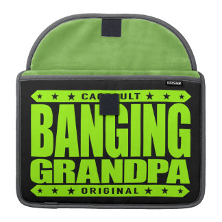 BANGING GRANDPA - I'm Still Rocking Savage Stemina MacBook Pro Sleeve
