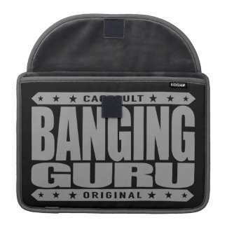 BANGING GURU - Lifecoach with an Undefeated Record Sleeves For MacBook Pro