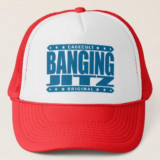 BANGING JITZ - Savage at Brazilian Jiu-Jitsu - BJJ Trucker Hat