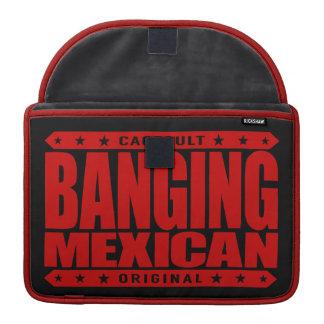 BANGING MEXICAN - I'm Savage Ancient Mayan Warrior MacBook Pro Sleeve