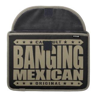 BANGING MEXICAN - I'm Savage Ancient Mayan Warrior MacBook Pro Sleeves