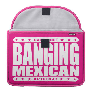 BANGING MEXICAN - I'm Savage Ancient Mayan Warrior Sleeve For MacBook Pro