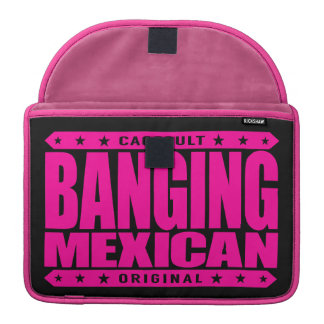 BANGING MEXICAN - I'm Savage Ancient Mayan Warrior Sleeves For MacBook Pro