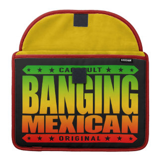 BANGING MEXICAN - I'm Savage Ancient Mayan Warrior Sleeves For MacBooks