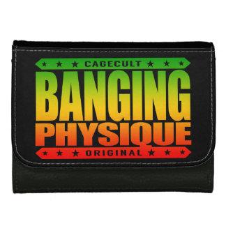 BANGING PHYSIQUE - Hard Body Like Savage Greek God Leather Wallets