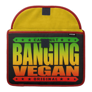 BANGING VEGAN - Living a Plant-Based Savage Life Sleeve For MacBook Pro