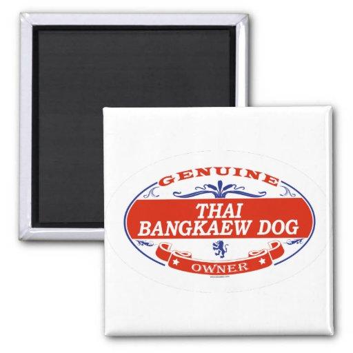BANGKAEW TAILANDÉS DOG_ IMAN DE NEVERA