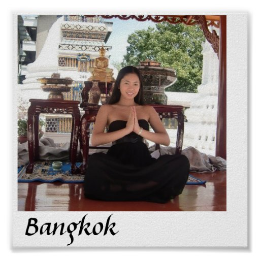 Bangkok Beauty Poster