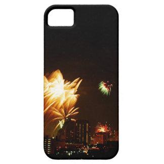 Bangkok fireworks iPhone 5 cover
