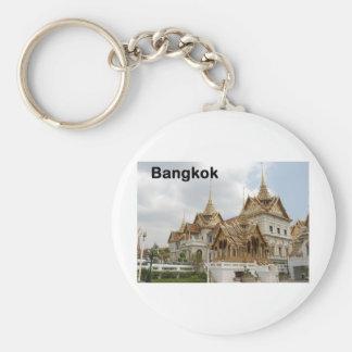 Bangkok grand palace (St.K) Basic Round Button Keychain