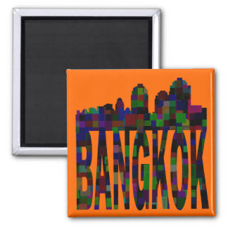 Bangkok Imán Cuadrado