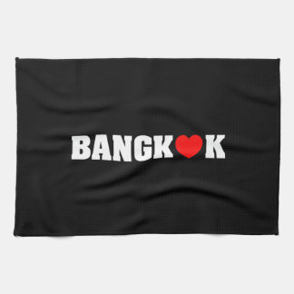 BANGKOK LOVE HAND TOWELS