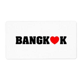 BANGKOK LOVE LABEL