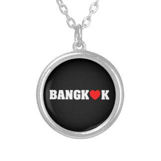 BANGKOK LOVE ROUND PENDANT NECKLACE